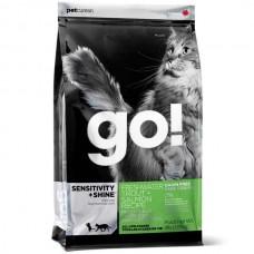 GO 48/18 - беззерн. корм для котят и кошек с чувств. пищ-ем: Форель, Лосось и Сельдь
