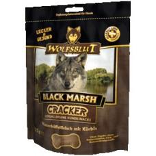 Wolfsblut Black Marsh (Черное болото) Крекер для собак (мясо буйвола, батат, тыква) 225 гр.
