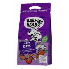 """BARKING HEADS PUPPY DAYS - NEW GRAIN FREE RECIPE 26/18 - беззерновой корм для щенков с лососем и курицей """"Щенячьи деньки"""""""