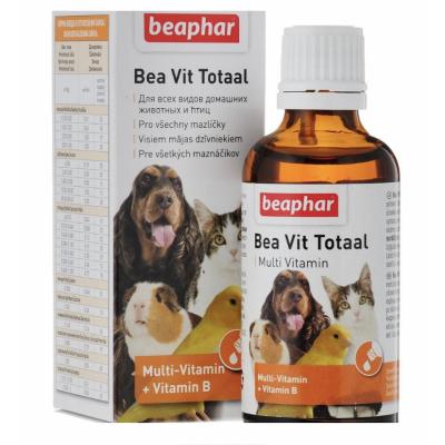 Beaphar Bea Vit Total Кормовая добавка для животных, 50 мл (арт. DAI12620)